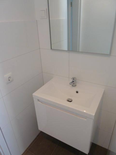 Duschbad, Waschbecken